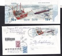 Russia . Drilling Platform .Tanker. Oil (10) - Fabrieken En Industrieën