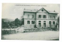Marcellaz - L'ecole Et La Pointe Des Brasses - Andere Gemeenten