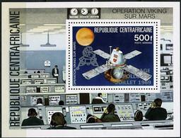 "Centrafrique Bloc YT 38 BF "" Alunissage Apollo XI "" 1979 Neuf** - Central African Republic"