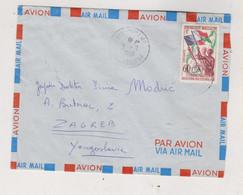 MADAGASCAR 1960 Airmail Cover To Yugoslavia - Madagascar (1960-...)