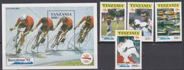Tanzanie Tanzania JO Barcelone 1992 Perf ** MNH - Summer 1992: Barcelona