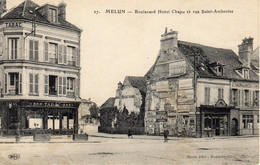 MELUN - Boulevard Henri Chapu Et Rue Saint-Ambroise - Melun