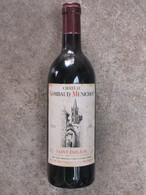 Bouteille De Vin St Emilion - CHATEAU GOMBAUD MENICHOT - 1982 - Wine