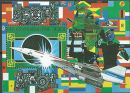 """Centrafrique Bloc YT 43 BF """" Concorde """" 1980 Neuf** - Central African Republic"""