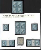France N°209**/* Ronsard,millésimes 4x2, Variété Recto-verso, Bloc De 4x2,  Cote 200€ - Unclassified