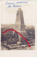 (88 ) - EVAUX Bayern-Denkmal  Carte Photo Allemande 1° Guerre - Other Municipalities