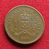 Netherlands Antilles 1 Gulden 2014 KM# 91  Antillen Antilhas Antille Antillas - Netherland Antilles