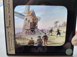 Le Moulin De VALMY - Plaque De Verre LANTERNE MAGIQUE - TBE - Diapositiva Su Vetro