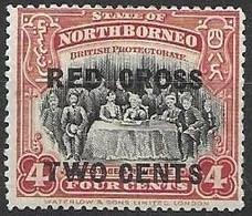 North Borneo Red Cross Mh * - North Borneo (...-1963)
