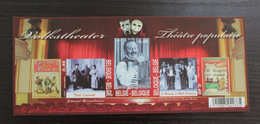 Jaar 2007: BL141 'Volkstheater' - Ongetand Met Nummer - Zeer Mooi! - Imperforates