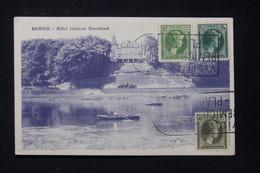 LUXEMBOURG - Affranchissement De Remich Sur Carte Postale En 1933 Pour La France - L 87895 - Covers & Documents