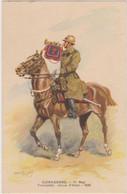 Illustration Maurice Toussaint - Militaire Cuirassiers 11ème Regiment Trompette Offert Par Byrrh - CPSM 9x14 TBE 1938 - Otros Ilustradores