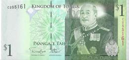 TONGA - 1 Pa'anga 2014 UNC - Tonga