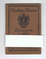 Passeport - Passport - Reisepass - République Française 1939 - Visa Suisse ( Bâle ) (fr90) - Documentos Históricos