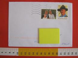 SKCC9 SCOUTS SCOUTING SCAUTISMO - 2007 BELGIO BELGIE BELGIQUE BADEN-POWELL EUROPA ROYAL FAMILY - Cartas