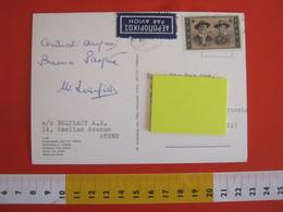 SKCC9 SCOUTS SCOUTING SCAUTISMO - 1963 GRECIA HELLAS BADEN-POWELL CARD ATENE AOHNA VEDUTINE - Briefe U. Dokumente