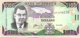JAMAIQUE - 100 Dollars 2009 - UNC - Jamaica
