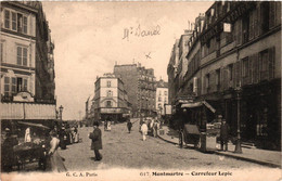 Paris Montmartre - Carrefour Rue Lepic Abbesses Maistre - Distretto: 18