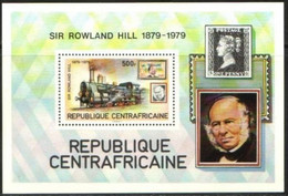 """Centrafrique Bloc YT 39 BF """" Rowland Hill """" 1979 Neuf** - Central African Republic"""