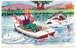 CPA - René CAILLÉ - Illustrateur - Chut ? ... - Other Illustrators