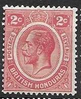 British Honduras 1922-33 Mh * 2,5 Euros - Brits-Honduras (...-1970)