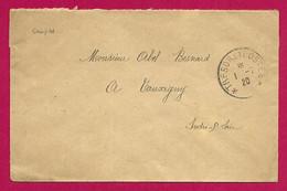 Deux Enveloppes Des Années 1920 - Armée Française Du Rhin - Escadrille B.R. 207 - Secteur Postal 109 A - Französische Zone