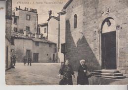 VITERBO S. MARIA NUOVA VG 1953  PIEGHINE - Viterbo