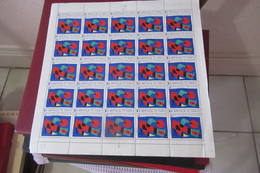 France  1974    Feuille Complète  Du N° 1811   X  25    N** MNH  LUXE - Full Sheets