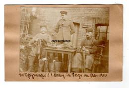 Die Schuhmacher Der 1. Kompagnie In Roye Im Februar 1916, Foto, Roye Somme - Krieg, Militär