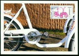 Mk Sweden Maximum Card 2011 MiNr 2797   Bicycles. Monark 523 Three-wheeler - Cartes-maximum (CM)