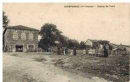 Champagnac: Champ De Foire, Charron ,belle Animation, Rare - Unclassified