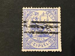 ESPANA 1874  Y&T 143 10c - Oblitérés