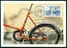 Mk Sweden Maximum Card 2011 MiNr 2798   Bicycles. Crescent's Folding Bicycle - Cartes-maximum (CM)