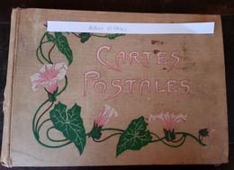 Ancien Album De Cartes Postales Vide - 65 Pages - Álbumes, Forros Y Hojas
