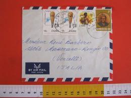 SKCC9 SCOUTS SCOUTING SCAUTISMO - 1982 ZAIRE 75° PICCARD BALLON AIR MONGOLFIERA KING RE CONGO KANIAMA 1985 - 1980-89: Oblitérés
