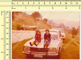 REAL PHOTO - Old Car  Auto, Automobilia Peugeot 504, Kids,  Old Photo - Auto's