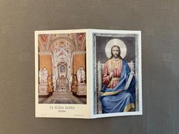 LA SCALA SANTA - ROMA / ALMA - MILANO - Devotion Images