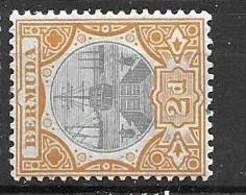 Bermuda Multiple CA Watermark 1909 Mh * 11 Euros - Andere