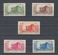 KOUANG-TCHEOU.  YT  N° 120/124  Neuf *   1939 - Unused Stamps