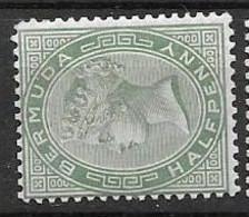 Bermuda CA Watermark 1883 Mh * 3,80 Euros - Other