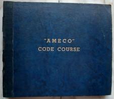 Ameco Code Course Anni '50 - 78 G - Dischi Per Fonografi