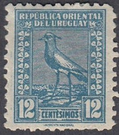 Uruguay, Scott #314, Mint Hinged, Southern Lapwing, Issued 1924 - Uruguay