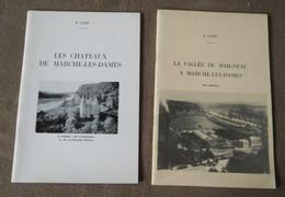 La Vallée Du Haigneau à Marche-les-Dames (ses Industries) + Les Châteaux De Marche-les-Dames (Ernest Tonet) -  Namur - Belgium