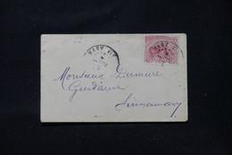 GUYANE- Petite Enveloppe De Sinnamary Pour Un Gendarme à Sinnamary Du 1er Janvier 1902 - L 87962 - Briefe U. Dokumente
