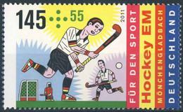 628  Championnat D'Europe De Hockey Sur Gazon: Timbre D'Allemagne, 2011 - EuroHockey Nations Championship. Field Hockey - Jockey (sobre Hierba)
