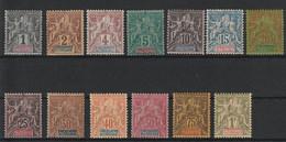 Oceanie - 1892 Serie Courante Allegorie * - Unused Stamps