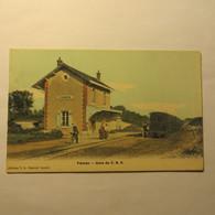 51 - FISMES -  La Gare C. B. R.  En 1915 - Fismes