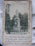 Eb1 - CPA - SALSOMAGGIORE MONUMENTO A ROMAGNOSI - PIONNIERE 1900 - Sin Clasificación