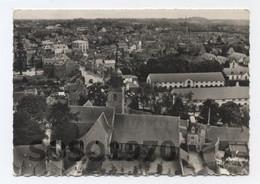 22-LAMBALLE - Haras Et Eglise St Martin EN AVION  AU DESSUS AERIENNE .--RECTO /VERSO-- B98 - Lamballe