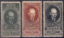 Russia 1928, Michel Nr 358A-60A, MH OG - Nuevos